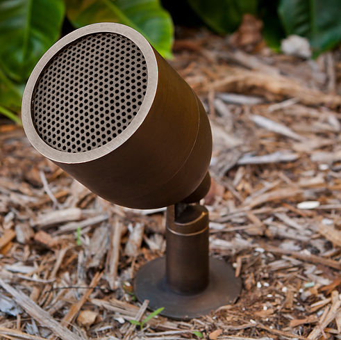 Discreet High Performance Outdoor Audio