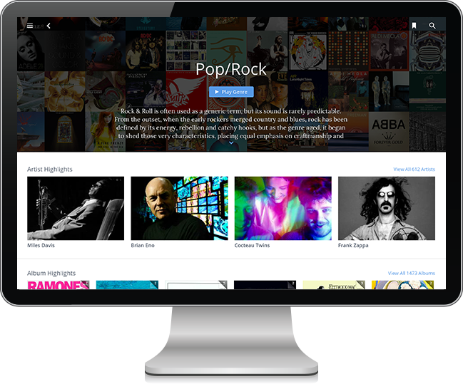 ROON subscription music service