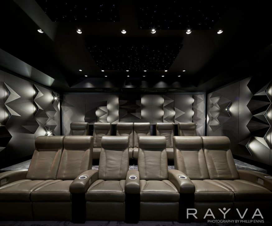 Rayva Home Theater seats