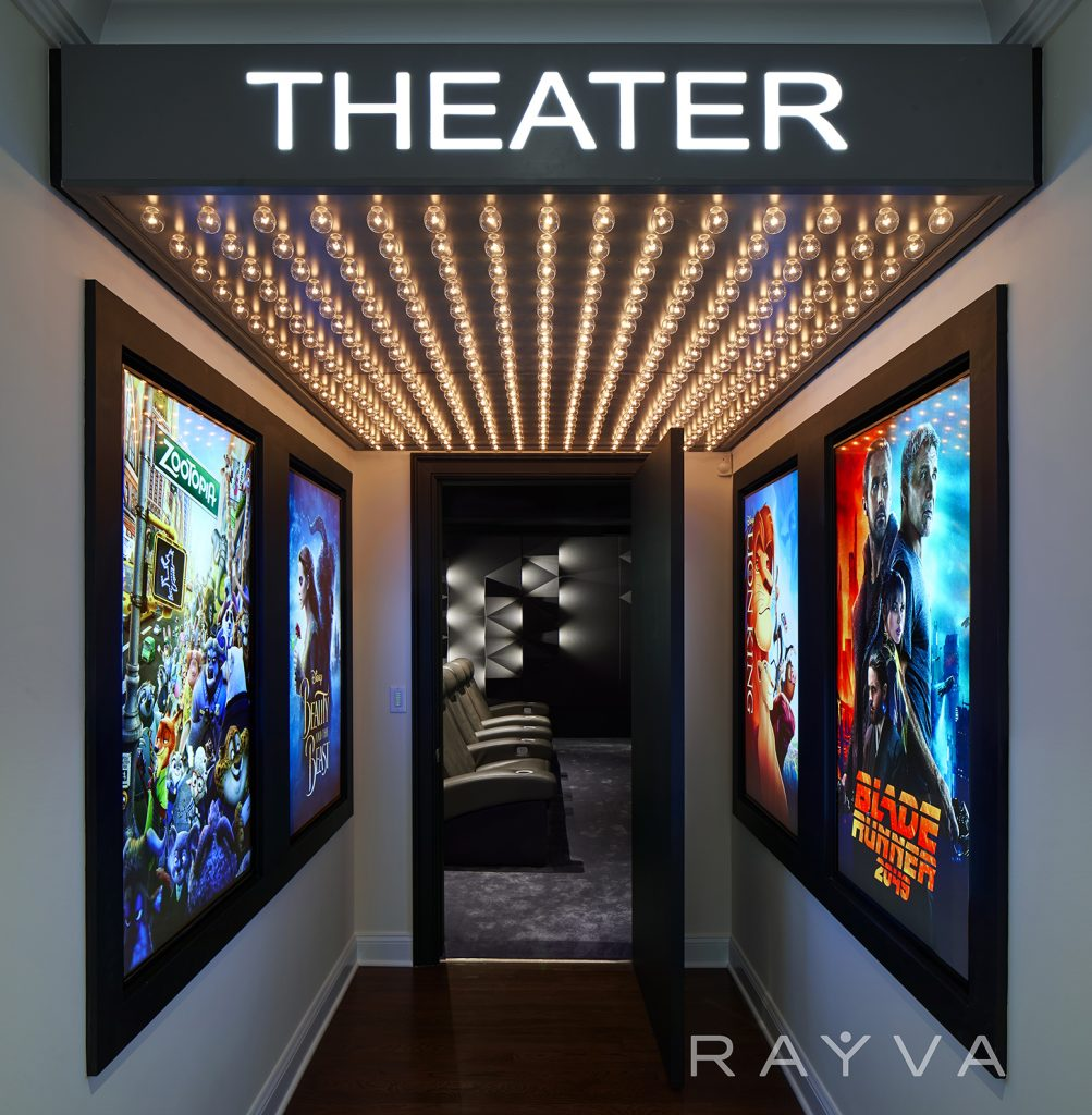 Rayva Home Theater Sound Panels