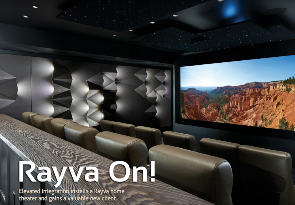 Rayva Origami Home Theater