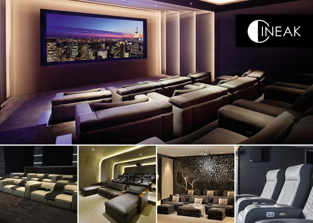 Cineak luxury home theater seating