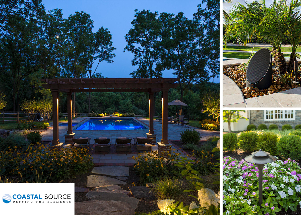 Coastal Source outdoor lighting audio
