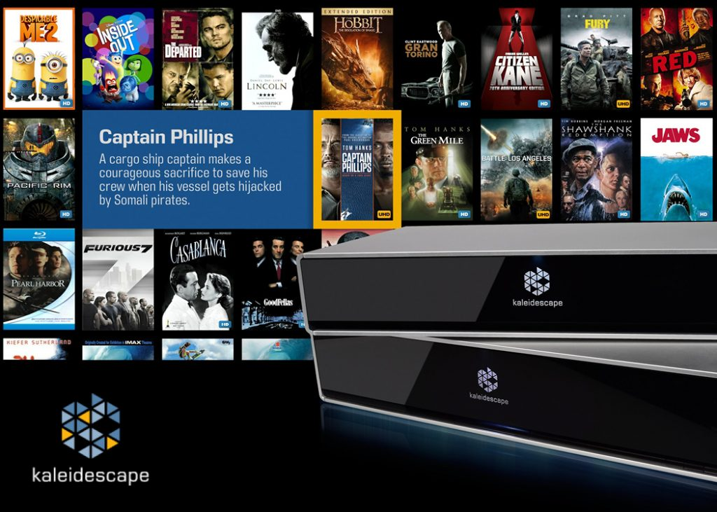 Kaleidescape movie server