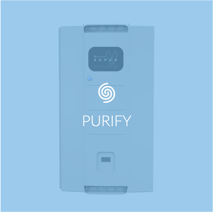 Purify with Pure365 Super V Air Purifier and Bluewater Filters