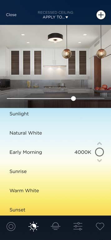 Lighting Control Color Temperature